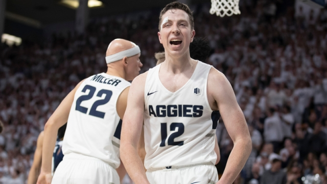 Utah State's Justin Bean