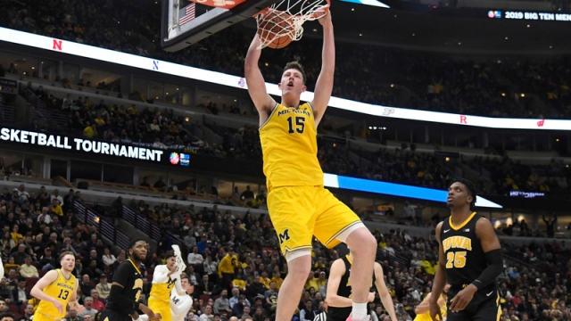 Michigan's Jon Teske