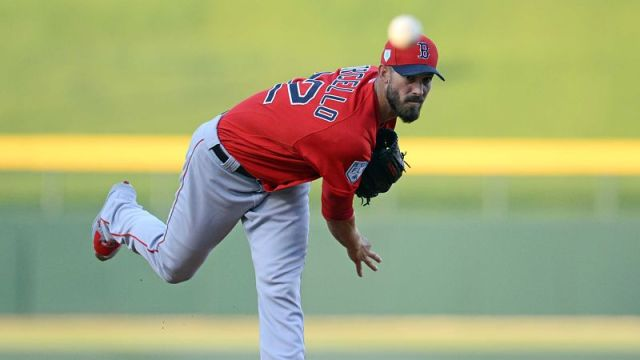 Boston Red Sox starter Rick Porcello