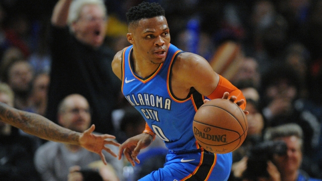 Oklahoma City Thunder's Russell Westbrook
