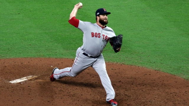 Boston Red Sox relief pitcher Ryan Brasier
