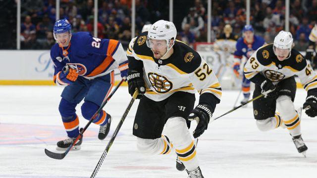 Boston Bruins winger Sean Kuraly