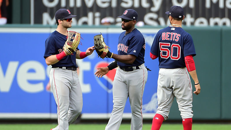 Red Sox Outfielders Discuss Team Chemistry Ahead Of Opening Day
