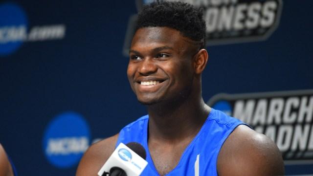 Duke Blue Devils forward Zion Williamson