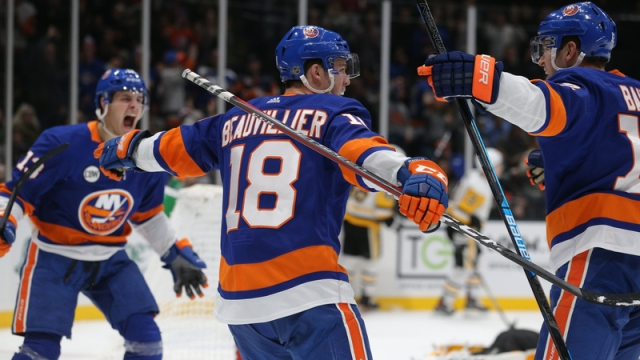 New York Islanders Forward Anthony Beauvillier