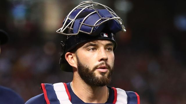 Arizona Diamondbacks catcher Blake Swihart