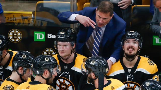 Bruins head coach Bruce Cassidy