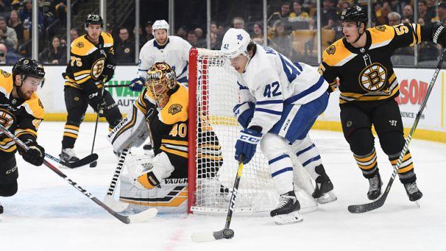 Bruins vs. Maple Leafs