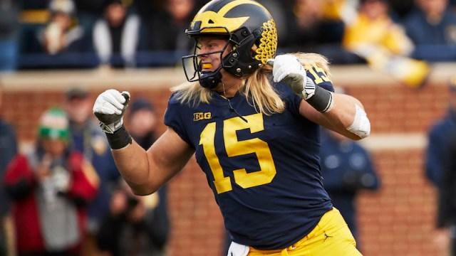 Michigan defensive end Chase Winovich