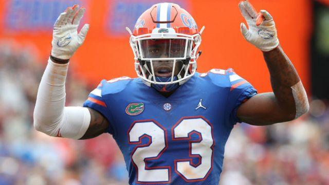 Florida Gators defensive back Chauncey Gardner-Johnson