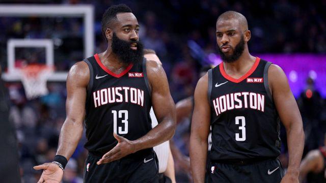 Houston Rockets' Chris Paul And James Harden