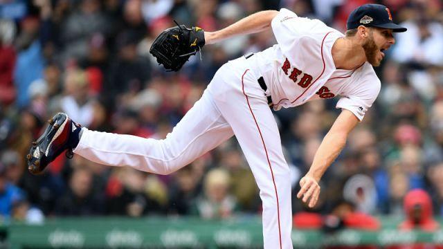 Boston Red Sox pitcher Chris Sale