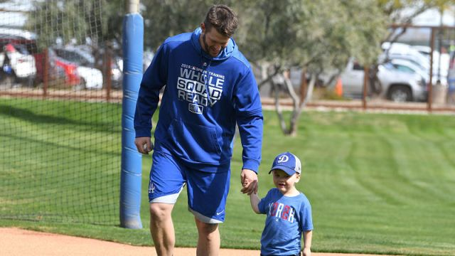 Los Angeles Dodgers pitcher Clayton Kershaw