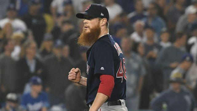 Boston Red Sox pitcher Craig Kimbrel