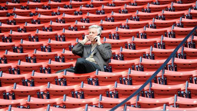 Former Red Sox President of Baseball Operations Dave Dombrowski