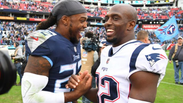 New England Patriots free safety Devin McCourty