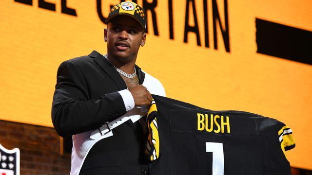 Pittsburgh Steelers linebacker Devin Bush