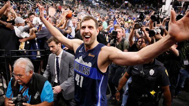 Dallas Mavericks' Dirk Nowitzki