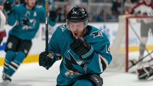 San Jose Sharks Forward Gustav Nyquist