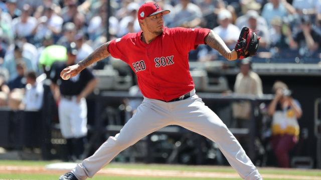 Boston Red Sox Pitcher Hector Velazquez