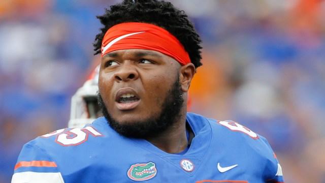 Florida Gators' Jawaan Taylor