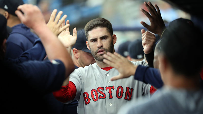 J.D. Martinez's Unique Hitting Approach Comes With Lots Of Preparation