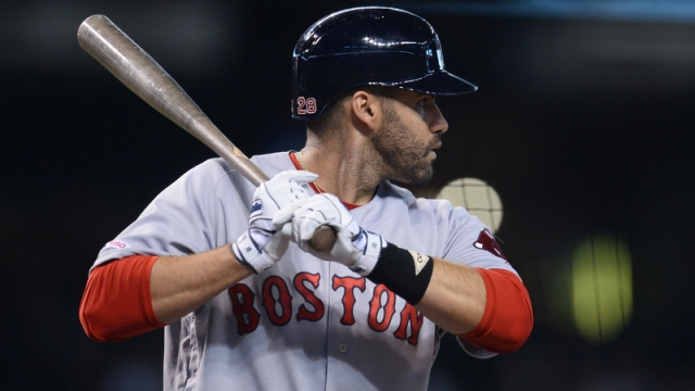 Boston Red Sox Designated Hitter JD Martinez