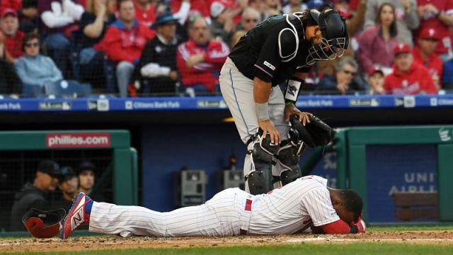 Philadelphia Phillies shortstop Jean Segura