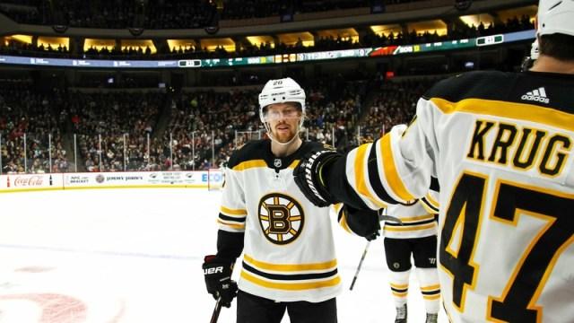 Bruins forward Joakim Nordstrom