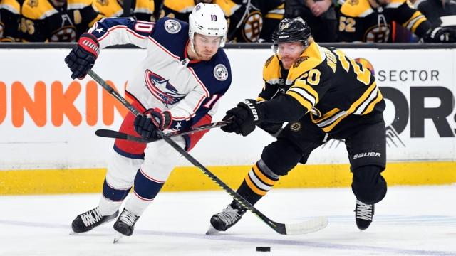 Boston Bruins Center Joakim Nordstrom