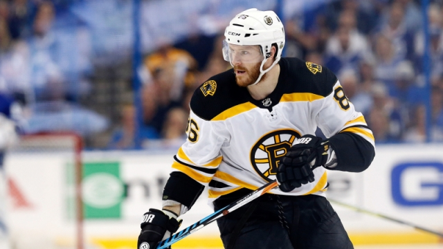 Boston Bruins defenseman Kevan Miller