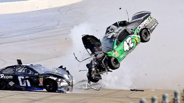 No. 42 Chevrolet driver Kyle Larson