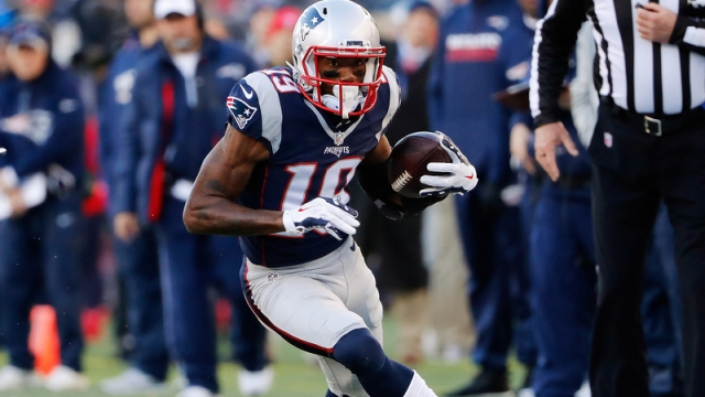 Former New England Patriots wide receiver Malcolm Mitchell