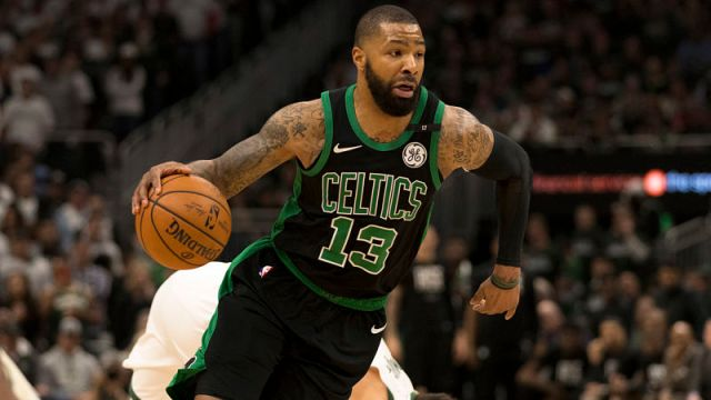 Boston Celtics forward Marcus Morris