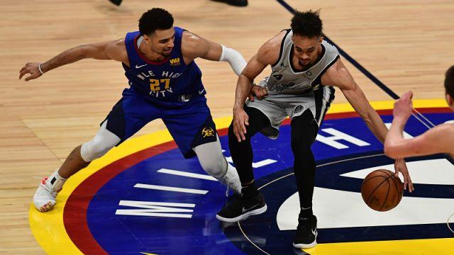 NBA: Playoffs: San Antonio Spurs at Denver Nuggets