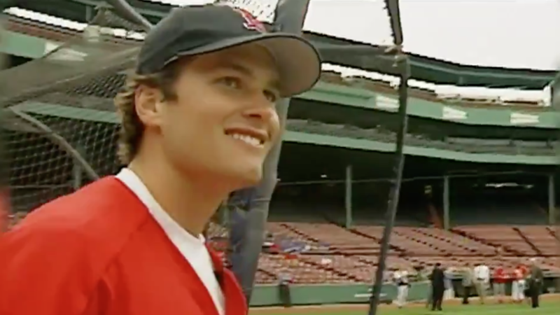 Video Of Tom Brady Hitting Homer At Fenway Park In 2003 Is Wild ...