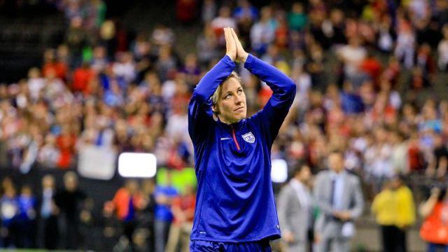 United States of America forward Abby Wambach