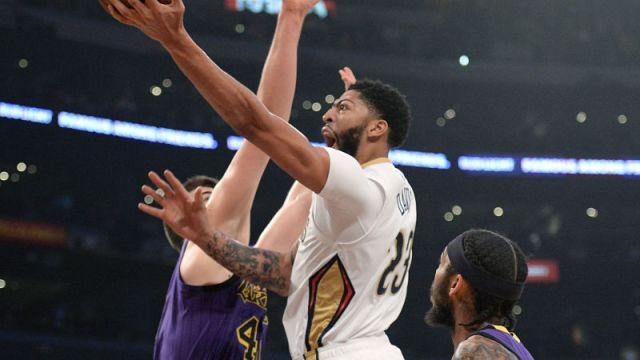New Orleans Pelicans center Anthony Davis