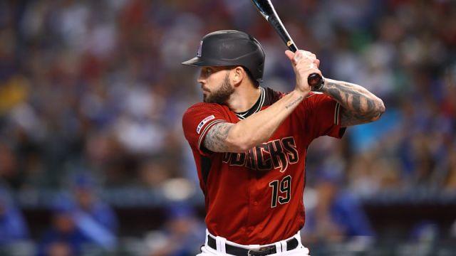 MLB catcher Blake Swihart
