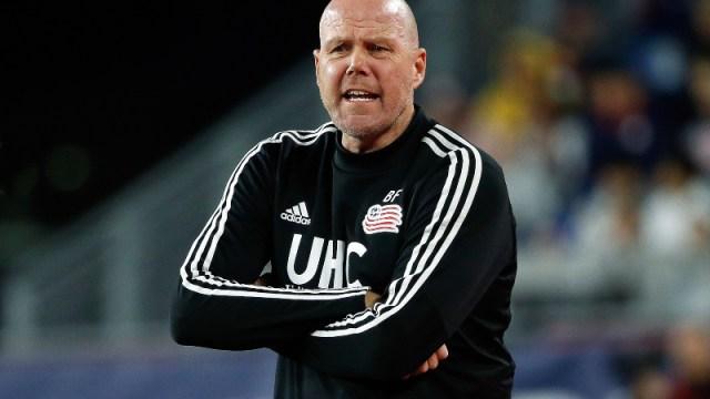 New England Revolution coach Brad Friedel