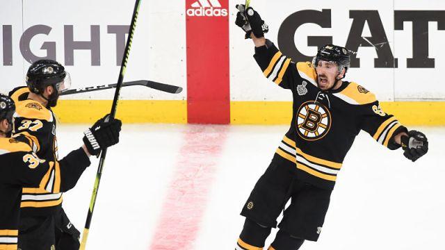 Boston Bruins forward Brad Marchand
