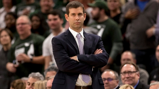 Boston Celtics Head Coach Brad Stevens