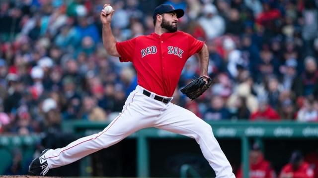 Boston Red Sox Relief Pitcher Brandon Workman