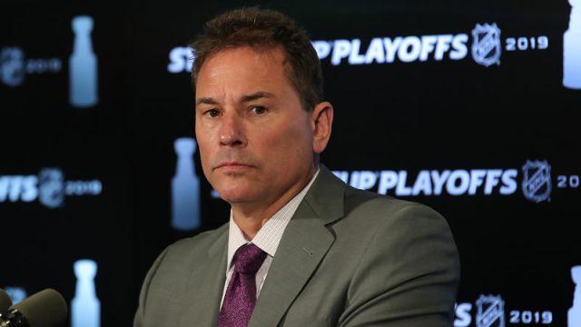 Boston Bruins coach Bruce Cassidy