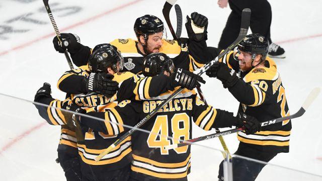 Boston Bruins fourth line