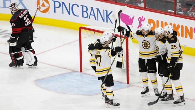 Bruins winger Chris Wagner
