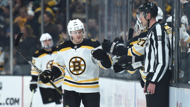Boston Bruins Right Wing Chris Wagner
