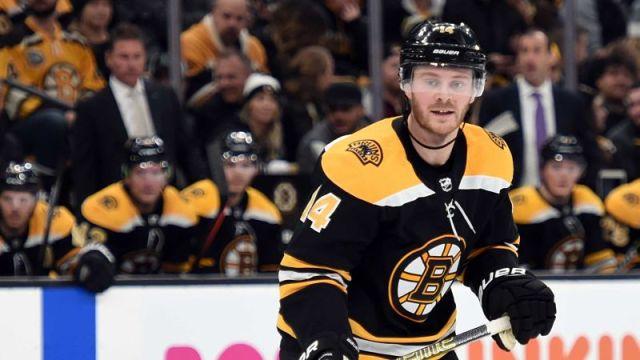 Boston Bruins winger Chris Wagner