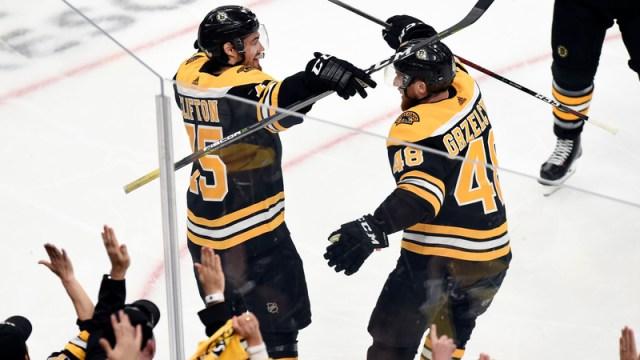 Bruins defenseman Connor Clifton