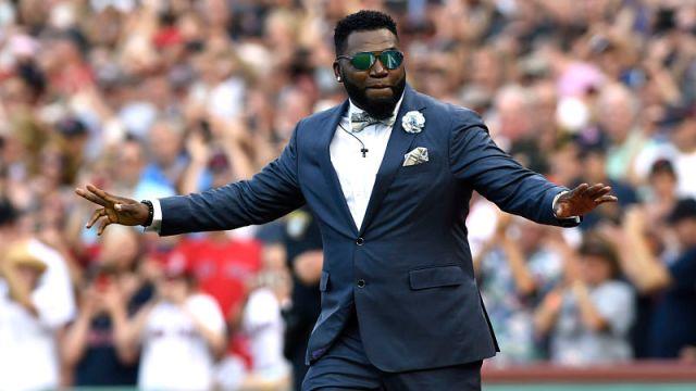 Former Boston Red Sox designated hitter David Ortiz